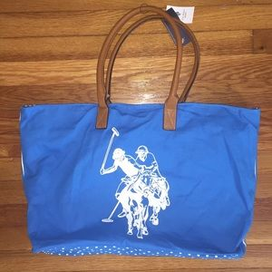 US POLO ASSN. LARGE TOTE